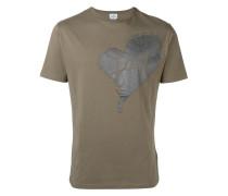 T-Shirt mit Herz-Print - men - Baumwolle - M