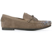 Loafer mit Farbdetail