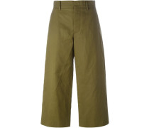 Weite Cropped-Hose