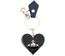 heart keyring - unisex - Leder/metal