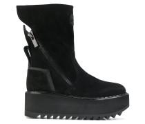 Vibram wedge boots