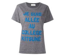 "T-Shirt mit ""Message""-Print"