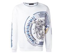 Greca Medusa side print sweatshirt
