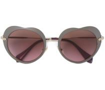 - Herzförmige Sonnenbrille - women