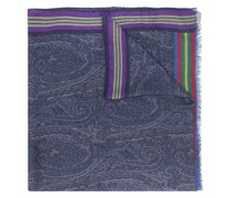 striped paisley scarf