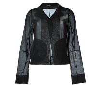 Transparenter Blazer