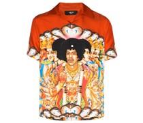 Hemd mit Jimi-Hendrix-Print