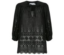 crochet stitched blouse