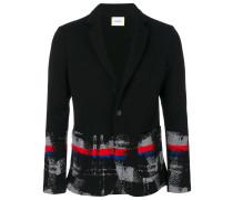 Multi Check Knit Jacket