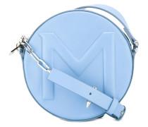 Runde Umhängetasche - women - Leder