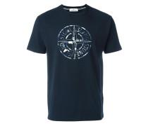 T-Shirt mit Kompass-Print - men - Baumwolle - L