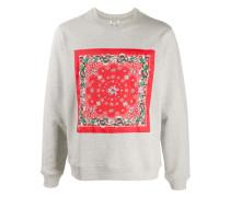 Sweatshirt mit Bandana-Print