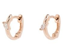 14kt rose gold Alexa Jordyn diamond earrings