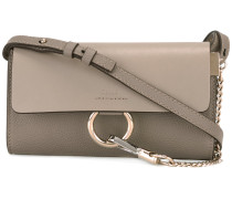 - Faye wallet on strap bag - women - Kalbsleder