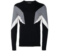 Sweatshirt mit geometrischem Muster