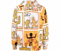 x Keith Haring organic cotton hoodie