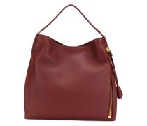 Oversized-Handtasche mit Reißverschluss