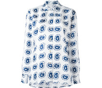 - Seidenhemd mit Paisley-Print - women - Seide