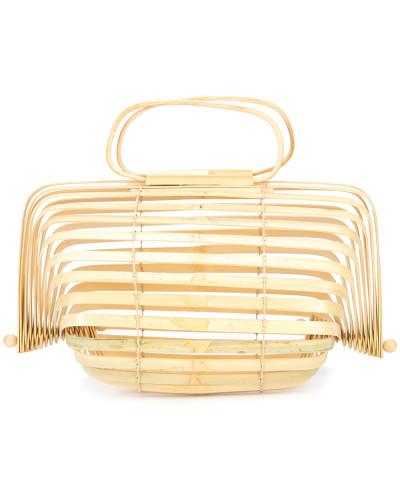 Faltbare 'Lilleth' Bambus-Handtasche