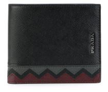 Portemonnaie mit Zickzackmuster