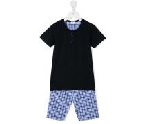- Pyjama mit Karomuster - kids
