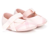 Karierte Ballerinas