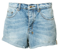Jeans-Shorts mit Waschung