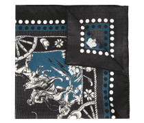 'Western' print bandana scarf