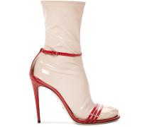 Sandalen mit abnehmbarem Strumpf