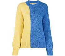 Gemusterter Intarsien-Pullover