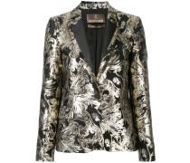 - embroidered blazer - women