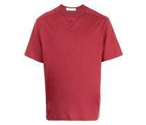 T-Shirt mit Ösenstickerei