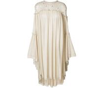 Kleid mit perforierten Details