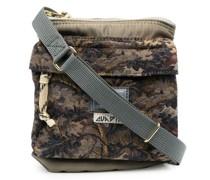 floral-embroidered messenger bag