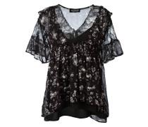 Bluse mit floralem Print - women