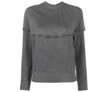 Pullover mit gewellten Kanten