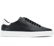 lace up leather trainers