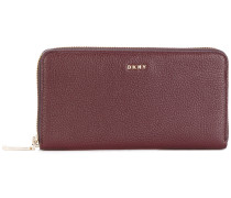 zipped continental wallet