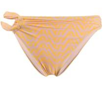Bikinihöschen mit geometrischem Muster
