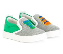 Sneakers mit Logo-Patch - kids
