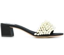 Valentina pearl slide sandals