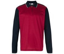 Poloshirt mit Colour-Block-Optik