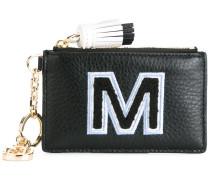 'M' monogram cardholder keyfobs
