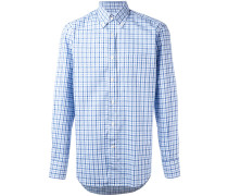 Hemd mit Karo-Print - men - Baumwolle - L
