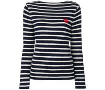 Sweatshirt mit Querstreifen