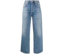 Taillenhohe 'Joanna' Cropped-Jeans
