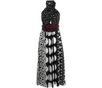 Neckholder-Kleid mit Polka Dots