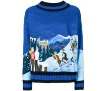 ski embroidered sweater