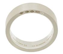 Gebürsteter Ring
