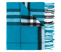 - Classic Check cashmere scarf - men - Kaschmir